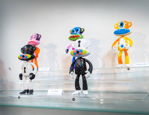 digital toys characters fun world japanese art